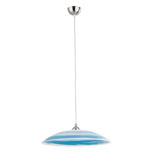 Лампа подвесная Sun 14331 голубая Alfa