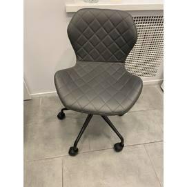 Стул офисный HY1008 серый кожзам Primel 2019