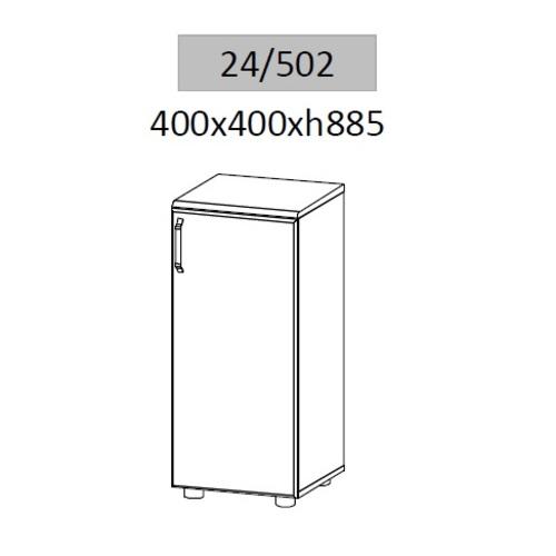 Тумба для документов Гранд МДФ 24/502 (40х40х88,5см) Sali