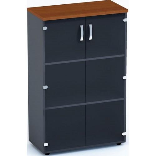 Шкаф для документов низкий Гранд ДСП 3/308 (80х40х128см) Sali