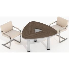 Стол для переговоров Evolution ДСП 18/116 (137,1х132,2х77,9см) Sali