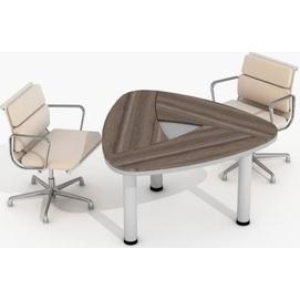 Стол для переговоров Evolution МДФ 25/404 (137,1х132,2х78см) Sali