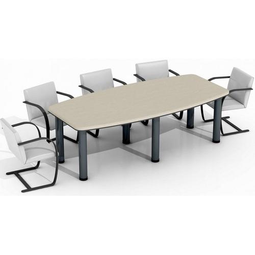 Стол для переговоров Гранд МДФ 24/405 Дуб цинамон (235,2х112х76см) Sali