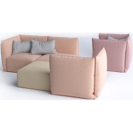 Диван двойка/тройка Patio (Комплект О.Ра соm 04 ) розовый Modi