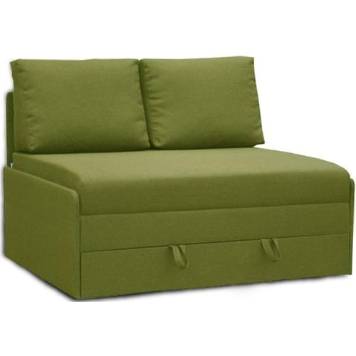 Диван двойка раскладной Рондо 140 зеленый Vika