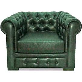 Кресло Марк зеленое Vika