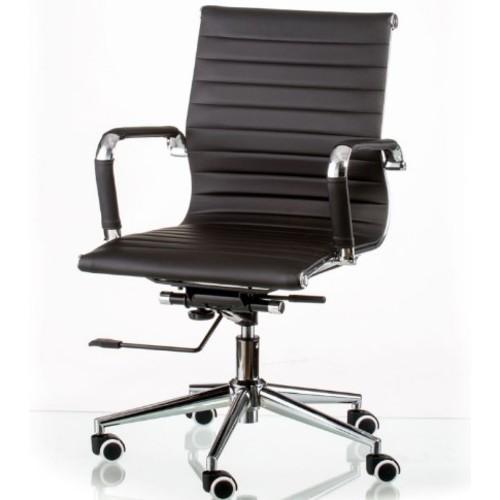 Кресло Special4You Solano 5 artleather black (E5340) черное