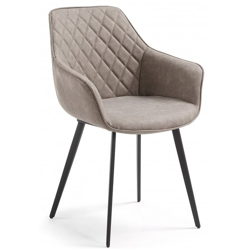 Кресло Status серый кожзам Primel 2020