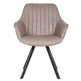 Кресло Fly серый кожзам Primel 2020