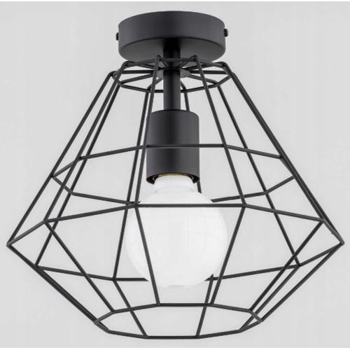 Лампа потолочная Ozinus 60601 черная Alfa