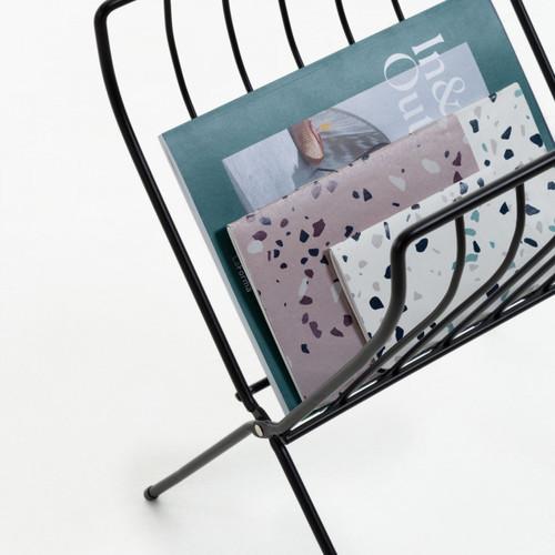 Стол кофейный Mairy CC1295R01 черный Laforma 2020