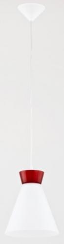 Лампа подвесная Roni 60301 белая Alfa