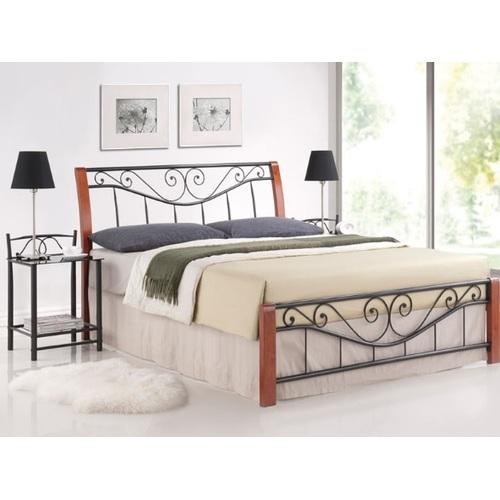 Кровать Parma 140см коричневая Signal 2019