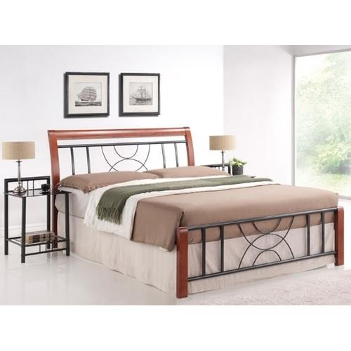 Кровать Cortina 160см коричневая Signal 2019