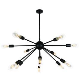 Люстра 911E19-12 BK черная Thexata 2020