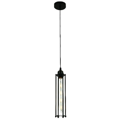 Лампа подвесная 761ZT01-1 BK черная Thexata 2020
