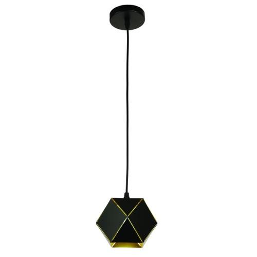 Лампа подвесная 7526686-1 BK черная Thexata 2020