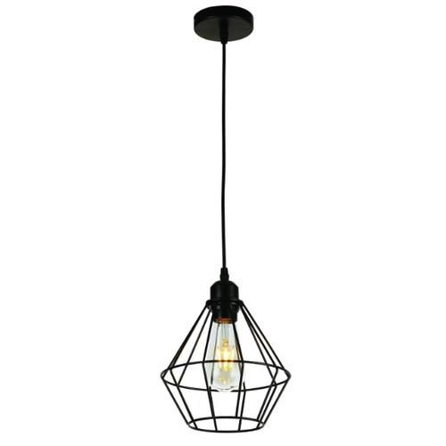 Лампа подвесная 7529062-1 BK черная Thexata 2020