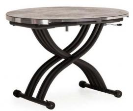 Стол обеденный раскладной TMT-33 серый бетон Verde 2020