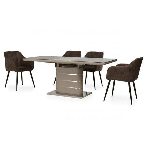 Стол обеденный раскладной ТМL-530 мокко Verde 2020