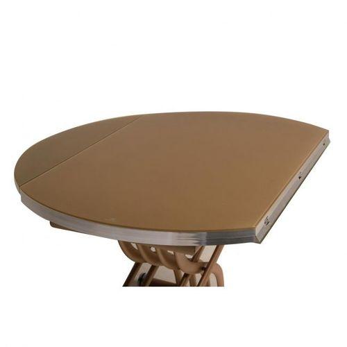 Стол обеденный раскладной TMT-33 капучино  Verde 2020