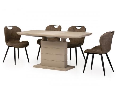 Стол обеденный раскладной ТМ-50-2 капучино Verde 2020