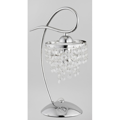Лампа настольная DIANA 18998 хром Alfa