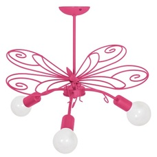 Люстра детская MOTYL MLP5330 розовая MiLAGRO 2020