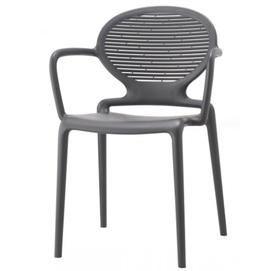 Кресло LAVINIA WITH 2288 антрацит SCAB Design