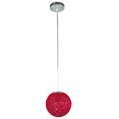 Лампа подвесная 9711501-1 красная Thexata 2020