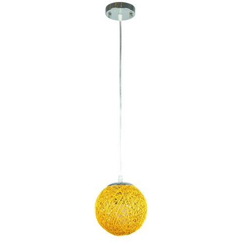 Лампа подвесная 9711501-1 желтая Thexata 2020