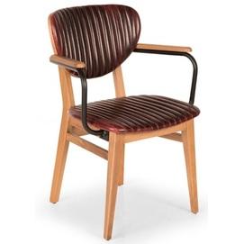 Кресло LİON LON 05 коричневое Caris 2020
