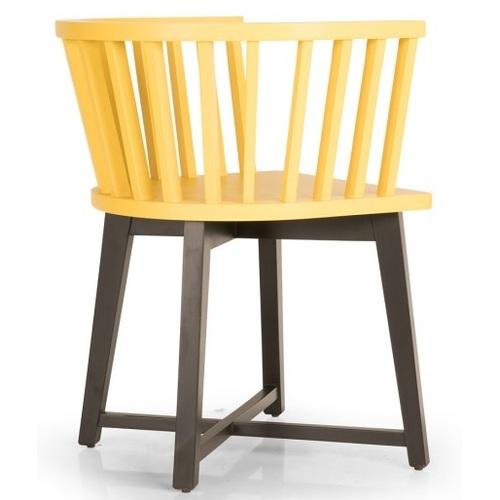 Кресло Nidus / NDS01 желтое Caris 2020