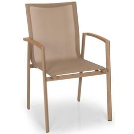 Кресло ROSSİ RSI 01 бежевое Caris 2020
