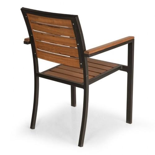 Кресло MİMOZA MMZ 01 коричневое Caris 2020