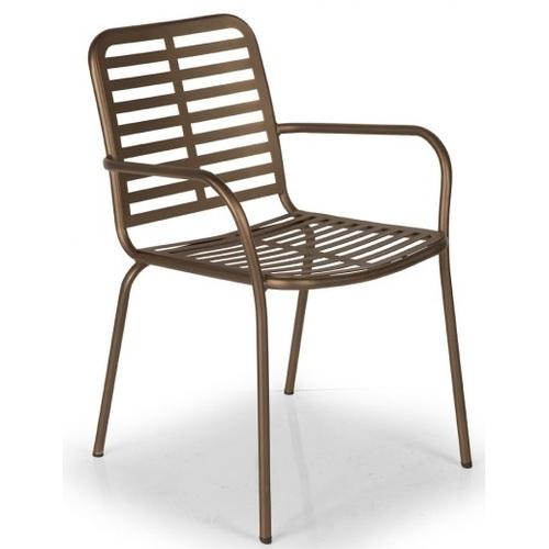 Кресло KEMA KEM 01 коричневое Caris 2020
