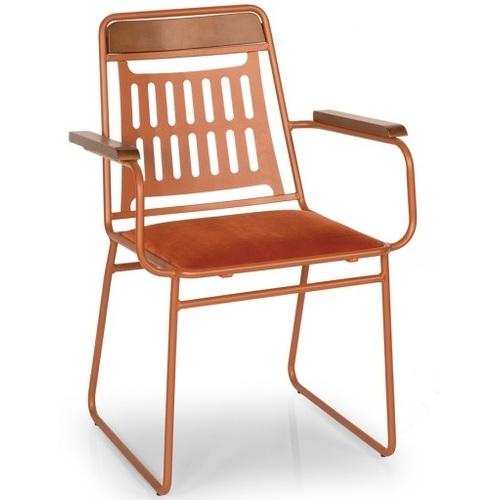 Кресло MERCUR оранжевое Caris 2020