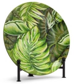 Блюдо Mat Leafy 600714 зеленое ABHIKA