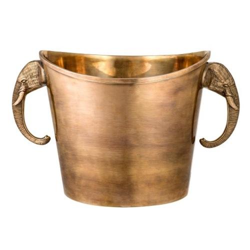 Ведро для льда Cooler Maharaja 110267 золото EICHHOLTZ