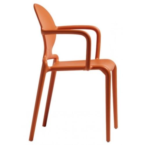 Кресло GIO 2314 оранжевое SCAB Design