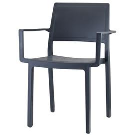 Кресло KATE WITH 2340 антрацит SCAB Design