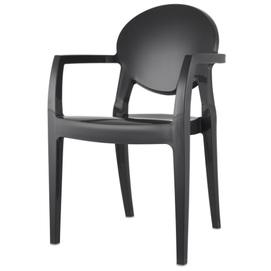 Кресло IGLOO TECHNOPOLYMER 2639 черное SCAB Design