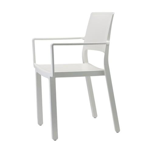 Кресло KATE WITH 2340 белое SCAB Design