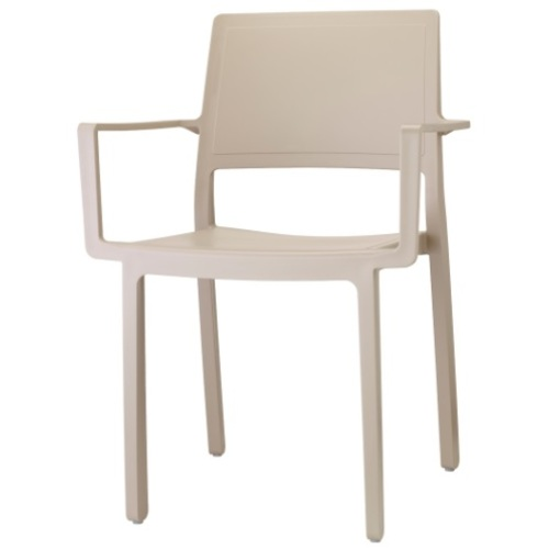 Кресло KATE WITH 2340 бежевое SCAB Design