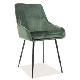 Кресло Albi Velvet зеленое Signal 2020