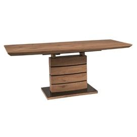 Стол обеденный раскладной Leonardo 140 коричневый Signal 2020