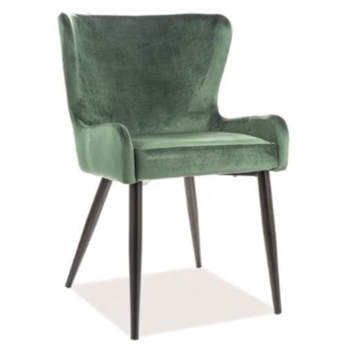 Кресло Passo II Velvet зеленое Signal 2020