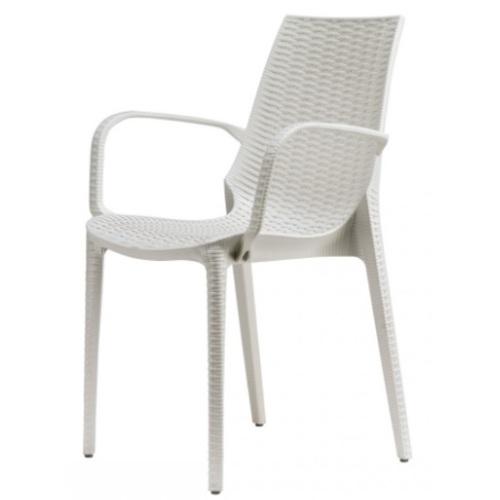 Кресло LUCREZIA 2322 белое SCAB Design