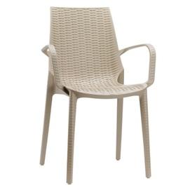 Кресло LUCREZIA 2322 бежевое SCAB Design