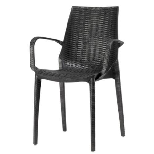 Кресло LUCREZIA 2322 черное SCAB Design